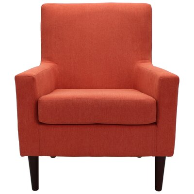 Donham Armchair Upholstery: Hacienda Orange