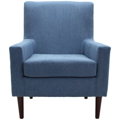 Donham Armchair Upholstery: Blue