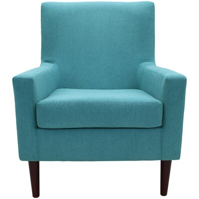 Donham Armchair Upholstery: Turquoise