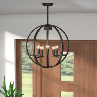 Jaiden 5-Light Globe Chandelier