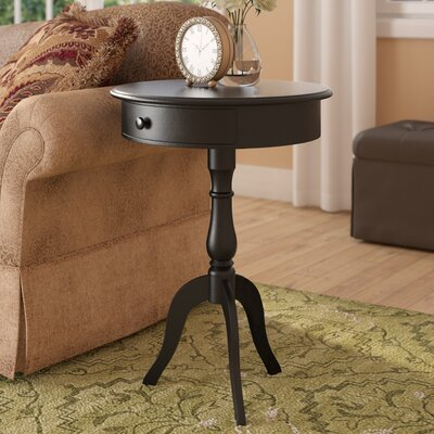 End Table Color: Distressed Black