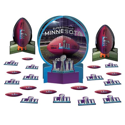 Super Bowl LII Table Decorating 23 Piece Sculpture Set 281876