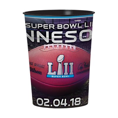 16 oz Favour Cup SUPERBOWL LII 4218761