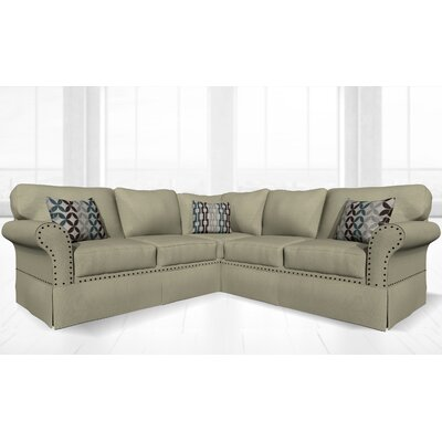 Crossen Sectional Upholstery: Clyde Platinum