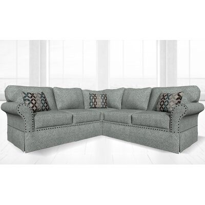 Crossen Sectional Upholstery: Attic Gray