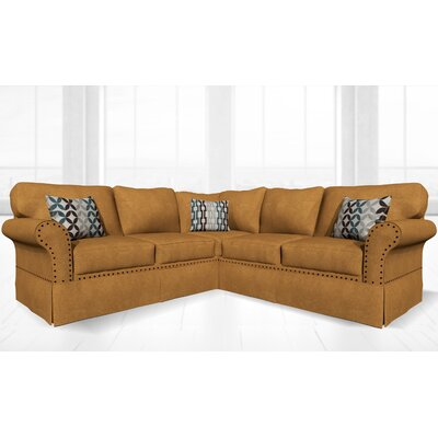 Crossen Sectional Upholstery: London Chestnut