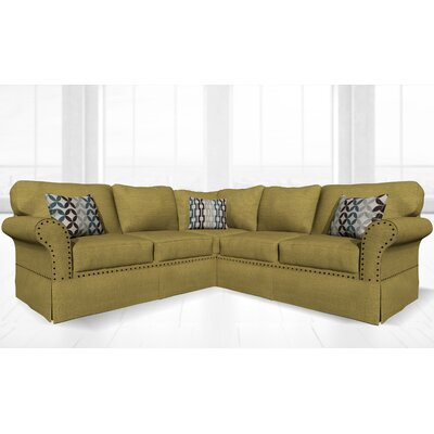 Crossen Sectional Upholstery: Loft Lemon