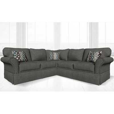 Crossen Sectional Upholstery: Ludlow Dolphin