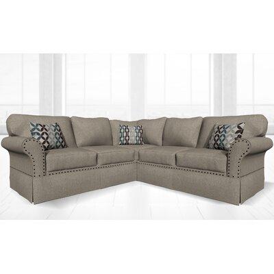 Crossen Sectional Upholstery: Oliver Linen