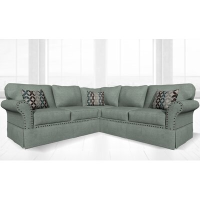 Crossen Sectional Upholstery: Lodlow Spa