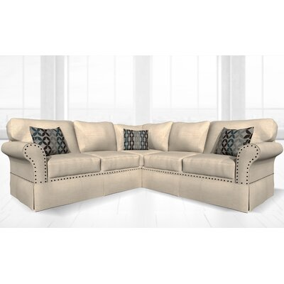 Crossen Sectional Upholstery: Luxor Pearl