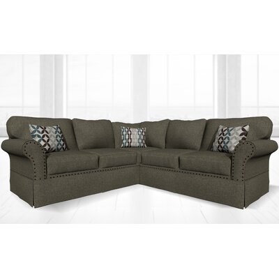 Crossen Sectional Upholstery: Sand Granite