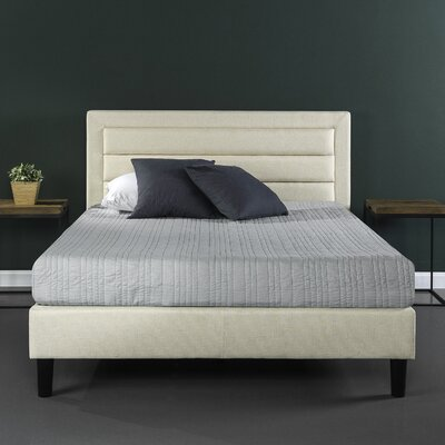 Mehta Upholstered Platform Bed Size: King