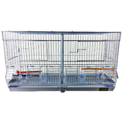Stackable Double Wide Breeder with Divider