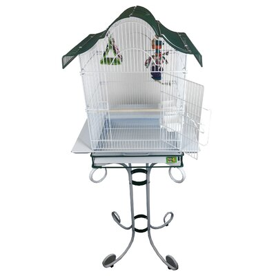 Pitch Roof Cage with Stand AE01541