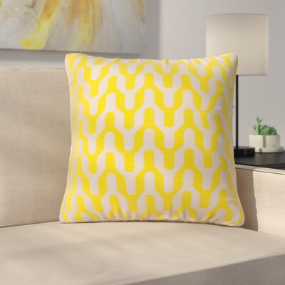 Arellano Decorative Throw Pillow Color: Canary