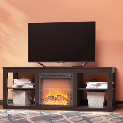 Rickard 59 TV Stand with Fireplace Finish: Espresso