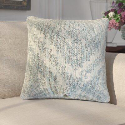 Giustino Cotton Throw Pillow Color: Rain