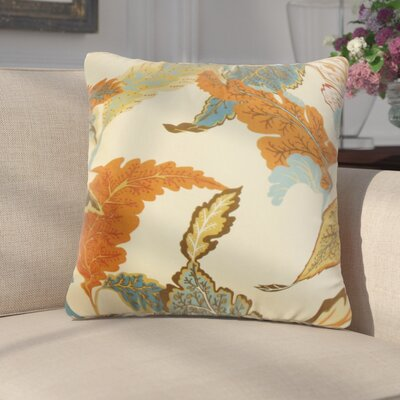 Griswald Floral Cotton Throw Pillow