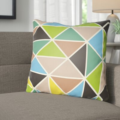 Walpole Throw Pillow Size: 18 H x 18 W x 4 D, Color: Green