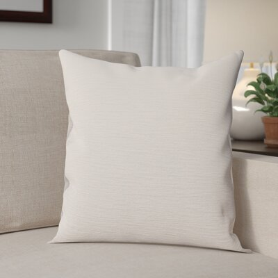 Danin Modern Outdoor Throw Pillow Color: Snow, Size: Small