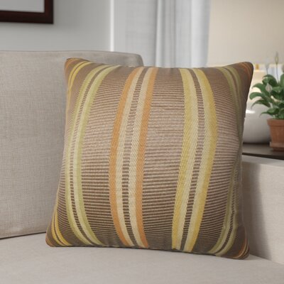 Diederich Stripes Cotton Throw Pillow