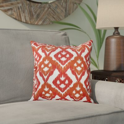 Oliver Hipster Throw Pillow Size: 26 H x 26 W, Color: Coral