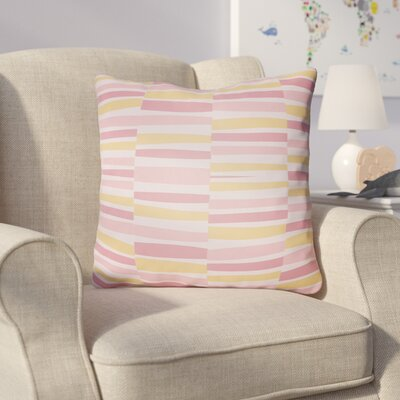 Colinda Throw Pillow Size: 18 H x 18 W x 4 D, Color: Pink