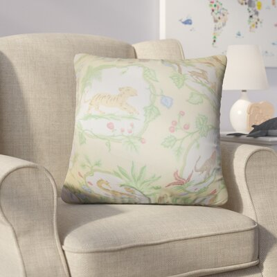 Alvin Floral Cotton Throw Pillow