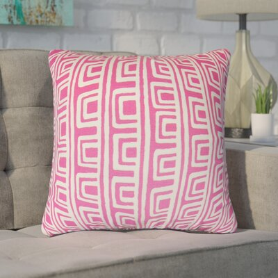 Fiore Geometric Cotton Throw Pillow