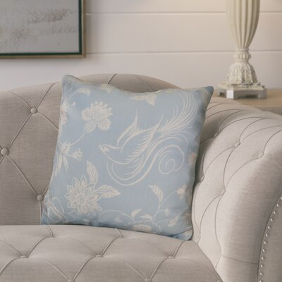 Rolla Decorative Holiday Throw Pillow Size: 20 H x 20 W, Color: Light Blue