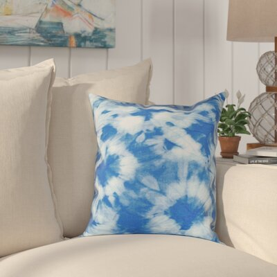 Pembrook Floral Throw Pillow Size: 26 H x 26 W, Color: Blue