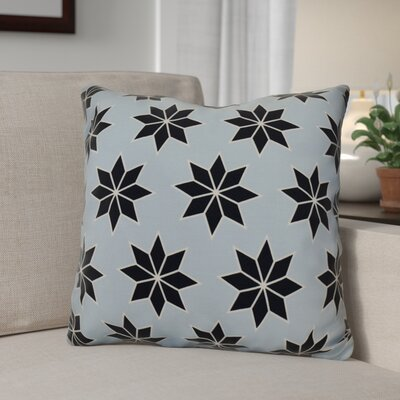 Decorative Holiday Indoor Geometric Print Throw Pillow Size: 18 H x 18 W, Color: Light Blue