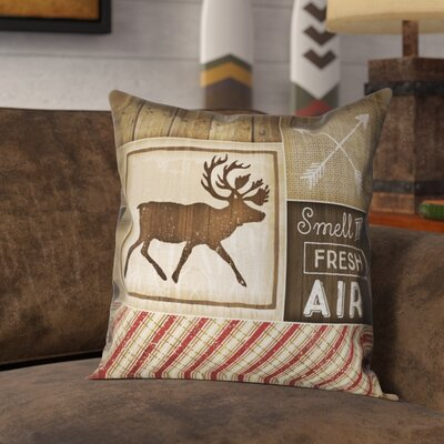 Jamari Rustic Outdoor Throw Pillow Size: 18 x 18