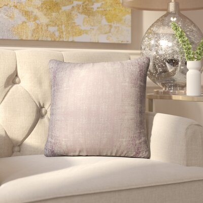 Caya Distressed Indoor/Outdoor Throw Pillow Size: 18 H x 18 W x 6 D