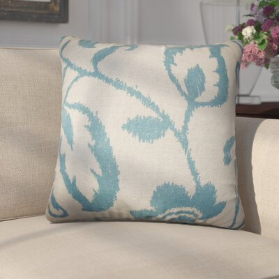 Emelie Floral Cotton Throw Pillow