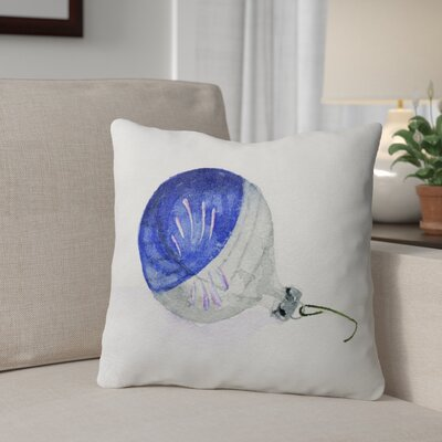 Ornament Outdoor Throw Pillow Size: 18 x 18