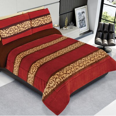 Sherpa Reversible and Texture Super Soft Jumbo Comforter