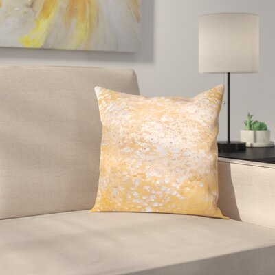 Blue Outdoor Throw Pillow Size: 16 H x 16 W x 2 D, Color: Gold