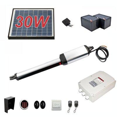 Single Swing Gate Operator Solar Kit AS450FULL
