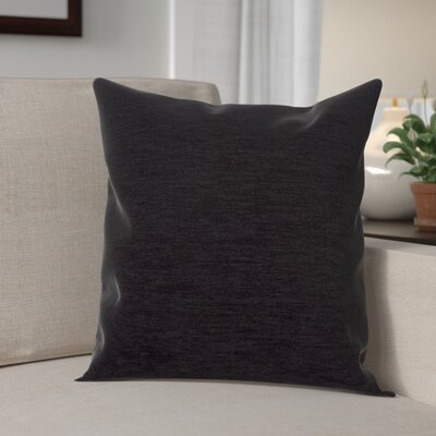 Danin Modern Outdoor Throw Pillow Color: Midnight, Size: Large