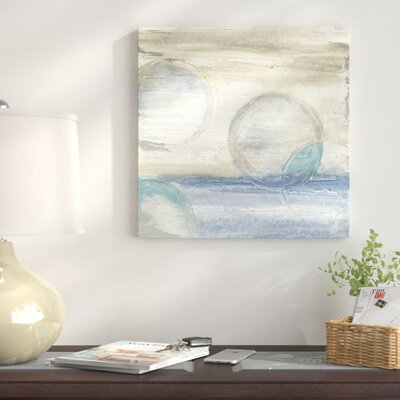 'Circles in Time IV' Print on Canvas