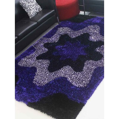 Heffernan Hand-Tufted Pink/Purple Area Rug