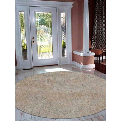 Henricks Hand-Tufted Ivory Area Rug Rug Size: Rectangle 5 x 8