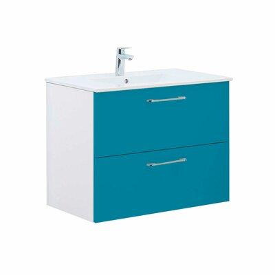 Iolanthe 32 Single Bathroom Vanity Set Base Finish: Blue