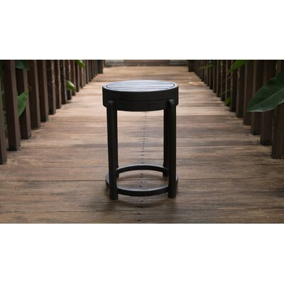 Stonebridge End Table Color: Black