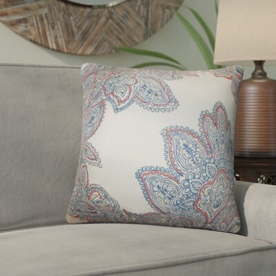 Rainey Street Floral Throw Pillow Color: Blue