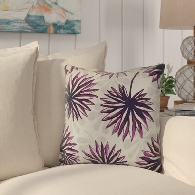 Costigan Throw Pillow Size: 16 H x 16 W x 3 D, Color: Purple