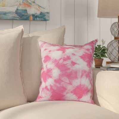 Pembrook Floral Throw Pillow Size: 18 H x 18 W, Color: Pink