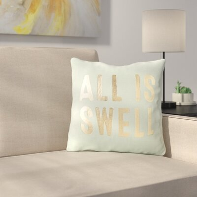 Belanger All is Swell 100% Cotton Throw Pillow